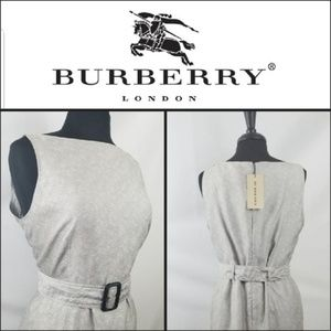 Authentic Burberry London Jacquard Dress $650 NWT